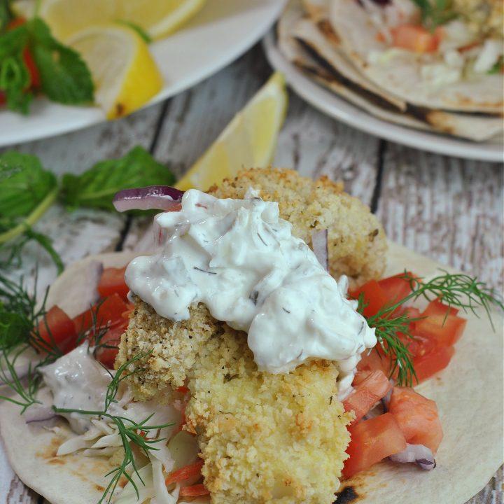 Tzatziki Fish Tacos