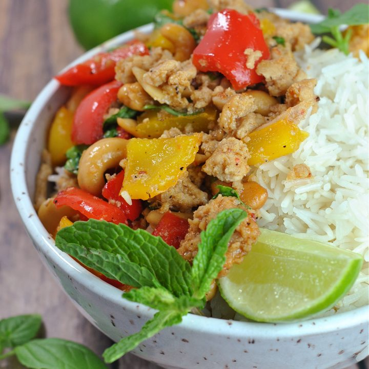 Better Than Takeout Sweet Thai Basil Chicken