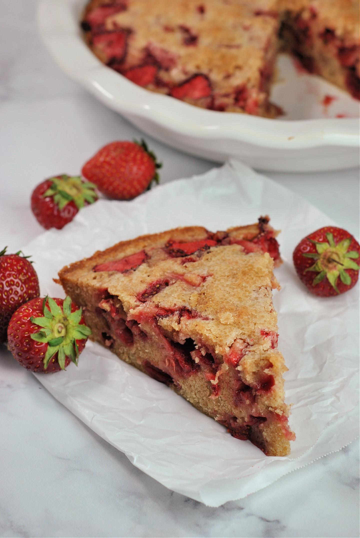 """Crustless Strawberry """"Pie"""" via @preventionrd"""