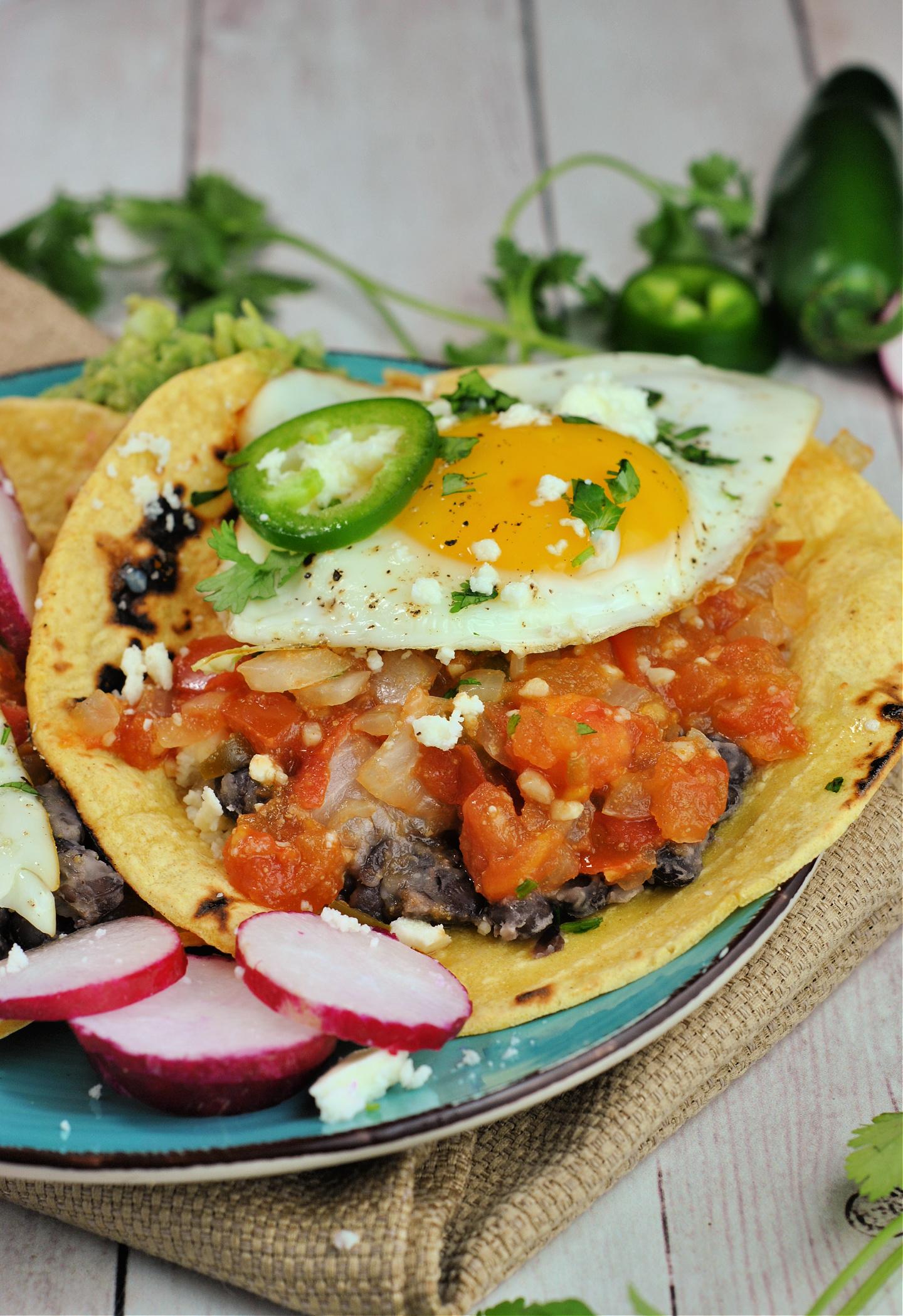 Huevos Rancheros via @preventionrd
