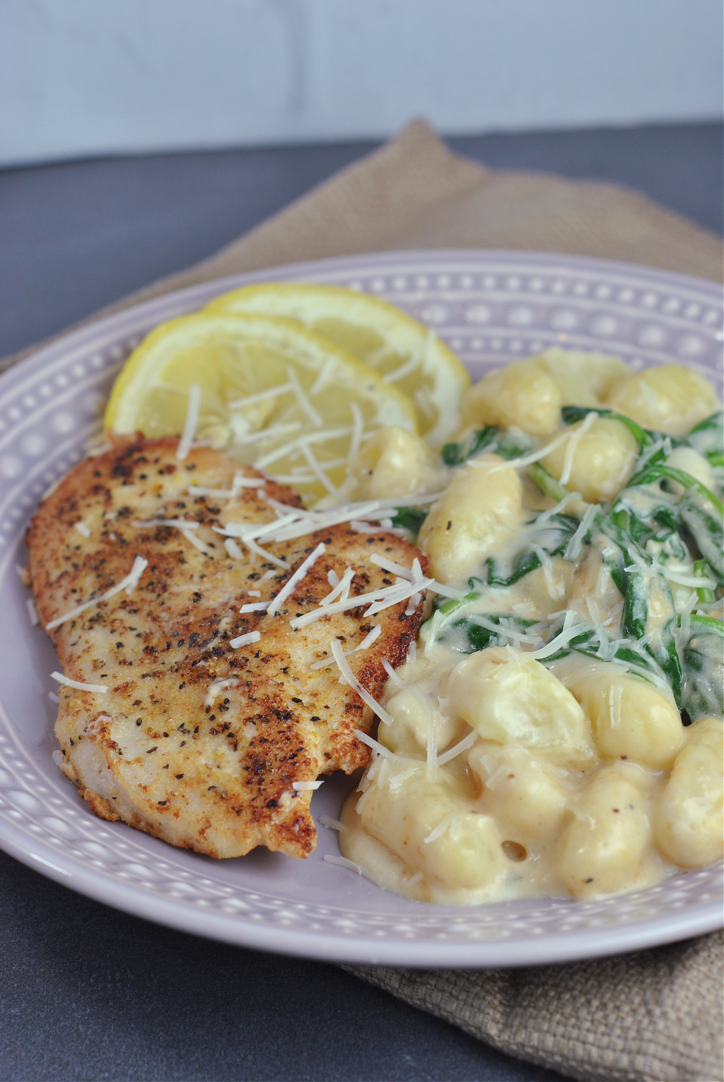 Creamy Lemon Chicken Gnocchi via @preventionrd